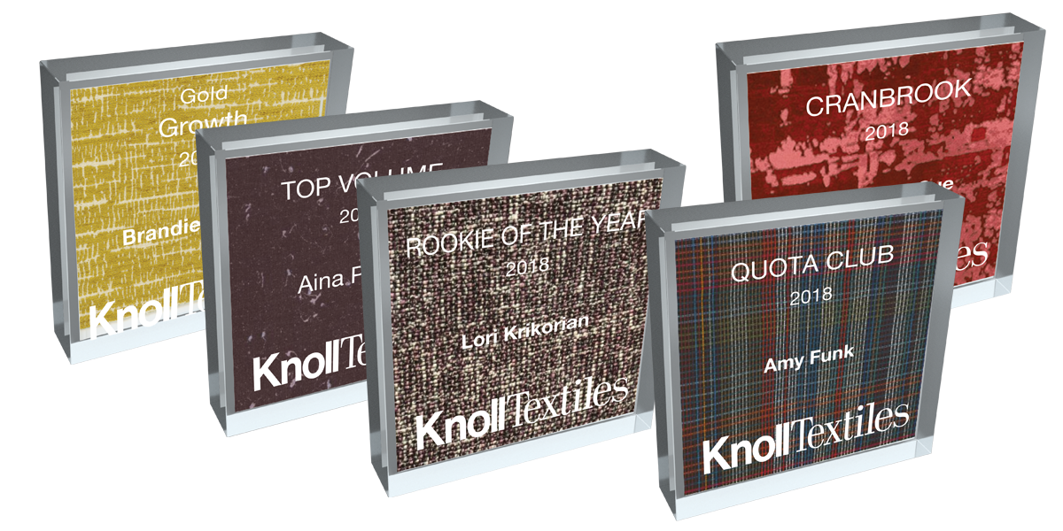 Knoll Textile Recognition Awards Program
