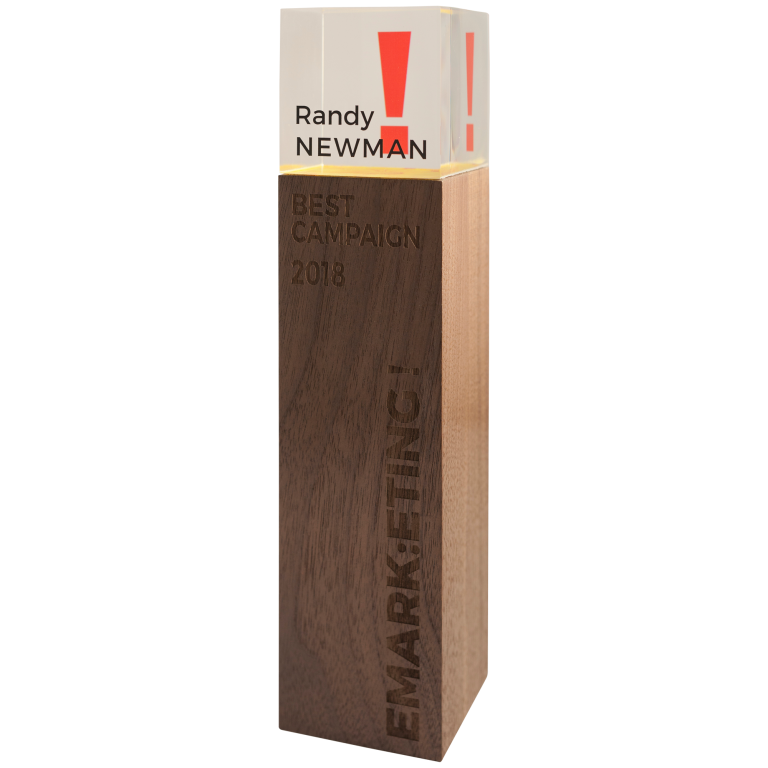 Tall wood award for marketing campaign