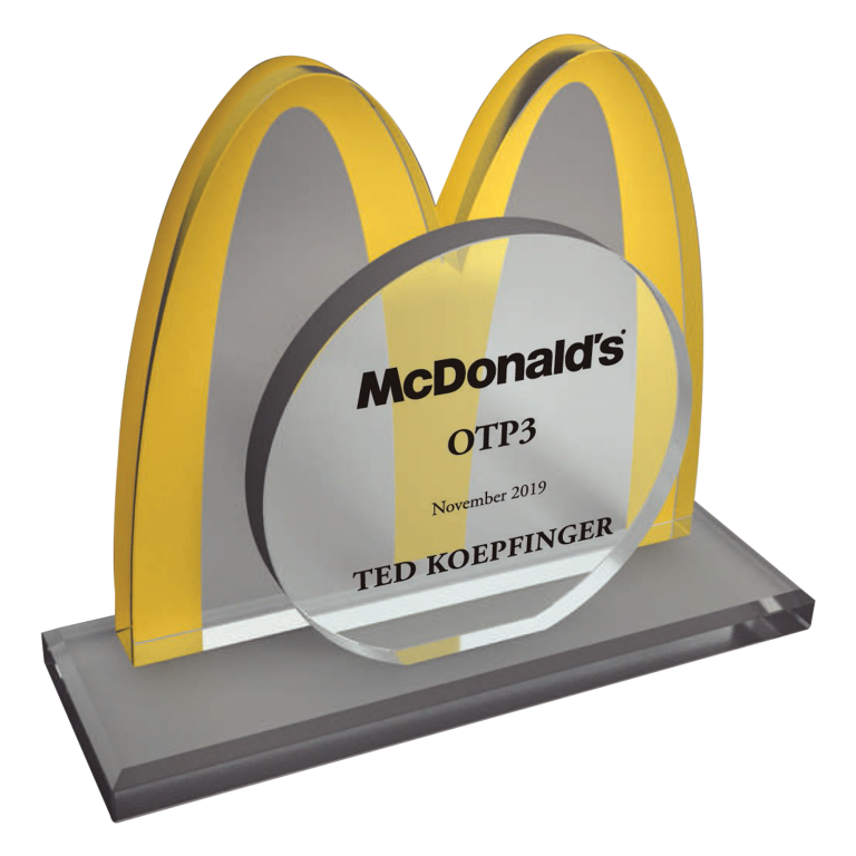 McDonalds Employee Performance Award