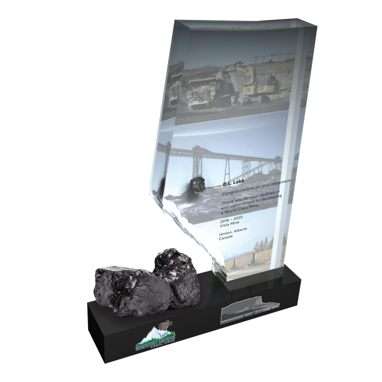 Retirement award for mining company